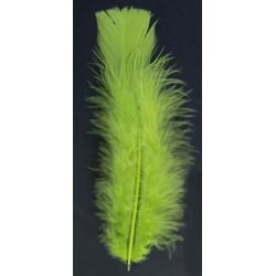 poche de 50 plumes ANIS pieds plat 10 cm haut Plumes Et Petales