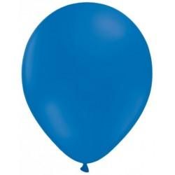100 ballons bleu opaque 14 cm