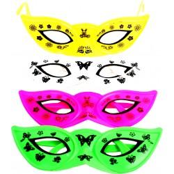 4 loups paire de lunette plastique 15cm