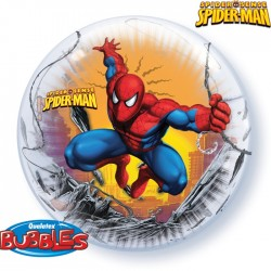 bubble spiderman 51 cm, non gonflé