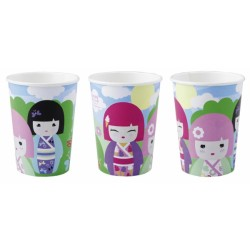 8 GOBELETS CARTON 266 ML FETE KIMMI JUNIOR Kimmi Junior Theme