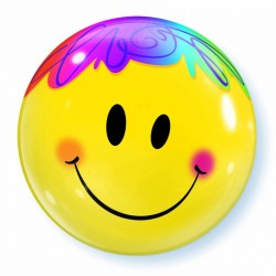 bubble ballon smile 56cm