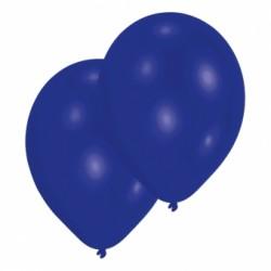Bleu marine opaque 30 cm poche de 100