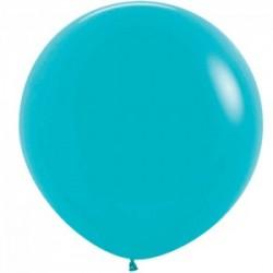 Sempertex turquoise 038 opaque 90 cm