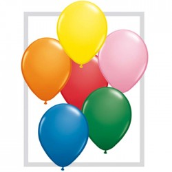 qualatex 28 cm couleurs standard par 2543756 q28 multicouleur std QUALATEX 28 Cm Opaques Qualatex 28 Cm Ø Ballons