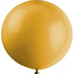 METALLISE OR rond 40 cm POCHE DE 5rr16 or BWS 40 cm rond métal (pour décoration air ou hélium )