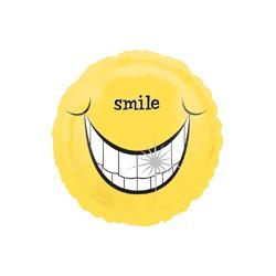 smile LARGE SOURIRE ballon mylar 45 cm non gonflé