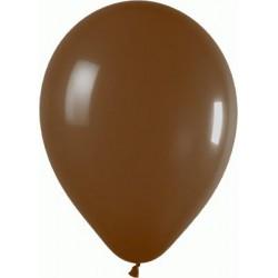 ballons standard CHOCOLAT opaque 13.5cm EN POCHE DE 100