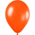 ORANGE ballons PERLE METAL 25 cm diamètre POCHE DE 100