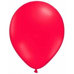 ROUGE ballons standard opaque 7.5 cm diamètre POCHE DE 25