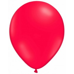 ROUGE ballons standard opaque 7.5 cm diamètre POCHE DE 25 BWS Les Pirates