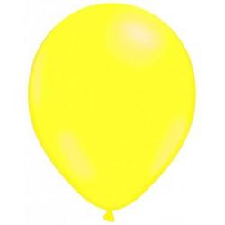 JAUNE ballons standard opaque 7.5 cm diamètre POCHE DE 25 BWS Ballons taille de 25 à 30 cm de diamètre POUR AIR OU HELIUM