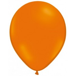 ORANGE ballons standard opaque 7.5cm diamètre POCHE DE 25