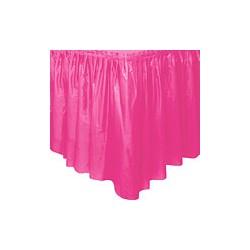 Rose juppe plastique pour tables et buffets ROSE PASTEL