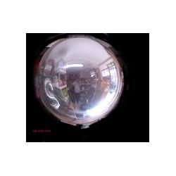 Ballon Mylar sphère argent 18 CM