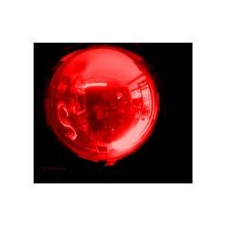 Ballon Mylar sphère ROUGE 18 CM