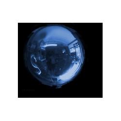 Ballon Mylar sphère BLEU 18 CM BWS Mylar Ballons Sphere