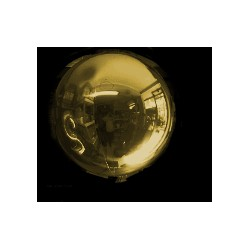 Ballon Mylar sphère OR 25 CM25 CM OR BWS Mylar Ballons Sphere