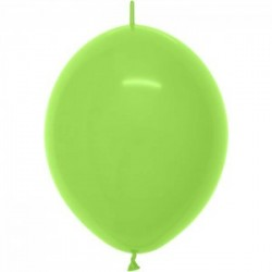 100 ballons link o loon lime green 15 cm de diamètre SEMPERTEX 15 cm Double Attache Sempertex