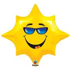 Etoile smile lunette qualatex 71 cm de diamètre