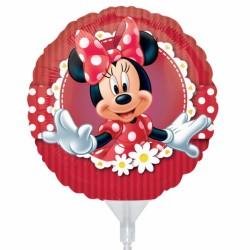3 minnie mini mylar vendu non gonflé pour air sur tige24820 AMSCAN Mickey Et Minnie