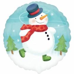 Bonhomme de neige rond 45cm