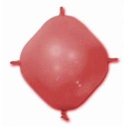 BALLONS 4 ATTACHES CONSTRUCTOR ROUGE POCHE DE 25