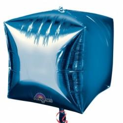 3 CUBES BLEU 38 CM2833899 AMSCAN Cubes Ballons Metal