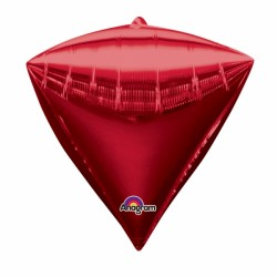 PYRAMIDE ROUGE 38 CM2834499 AMSCAN Pyramide Ballons Metal