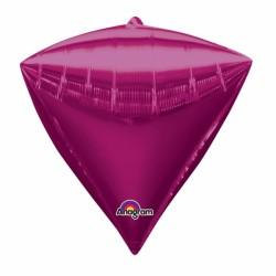 PYRAMIDE MAGENTA 38 CM2834199 AMSCAN Pyramide Ballons Metal