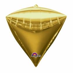 PYRAMIDE OR 38 CM2834099 AMSCAN Pyramide Ballons Metal