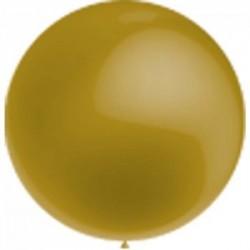 ballon baudruche 100 cm diamètre OR BWS BALLONS TYPE MÉTAL PERLE NACRE