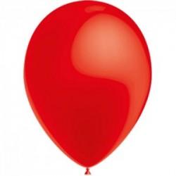 ROUGE ballons PERLE METAL 25 cm diamètre POCHE DE 10010rouge100 BWS 25 cm Métallisé (pour décoration air ou hélium )