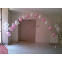 ARCHE PERLE LONGEUR 4M Les Décorations Ballons Mariages