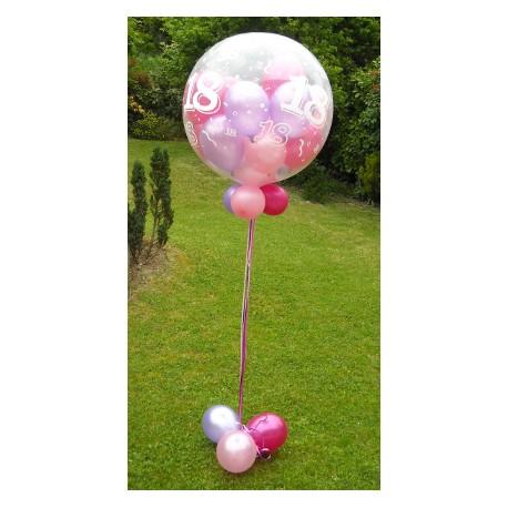 ballon gonflés hélium 90 CM avec ballons Les Décorations Ballons Anniversaires