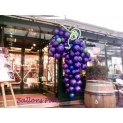 GRANDE GRAPPE RAISIN Décorations Ballons Commerces Et Centres Commerciaux