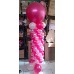 COLONNE AUTOPORTE 195 cm Les Décorations Ballons Anniversaires