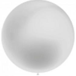 ballon baudruche 100 cm diamètre argent