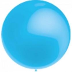 Métaliisé bleu ciel rond 40 cm poche de 5
