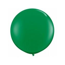 Métaliisé vert rond 40 cm poche de 5