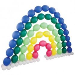 MUR ARC EN CIEL Murs Décoration Ballons