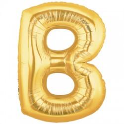 B OR LETTRE BALLONS MYLAR 86 CM BMIORT40P1 BETALLIC Lettres Ballons Mylar 86 cm ( Air Ou Hélium)(or ou argent au choix)