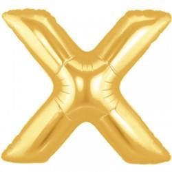 X OR LETTRE BALLONS MYLAR 86 CM