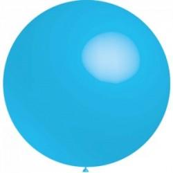 ballons 40 cm diamètre bleu ciel * 5