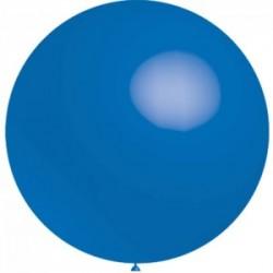 ballons 40 cm diamètre bleu foncé * 5