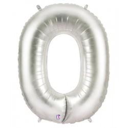O ARGENT LETTRE BALLONS MYLAR 86 CM OARGENT40P1 BETALLIC Lettres Ballons Mylar 86 cm ( Air Ou Hélium)(or ou argent au choix)