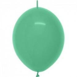 DOUBLE ATTACHE 30 cm opaque vert lime 030