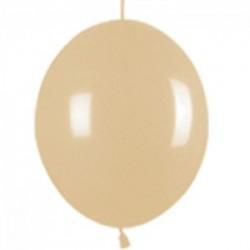 Link o loon 30 cm opaque café poche de 25 SEMPERTEX Double Attaches 30Cm Opaques Vifs Et Pastels