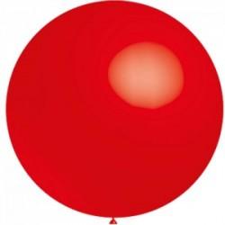 5 ballons 40 cm diamètre rouge
