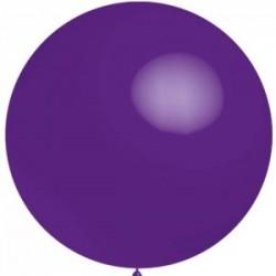 5 ballons 40 cm diamètre violet